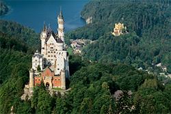 Oberbayern Familienurlaub - Ein Muss ist ein Besuch im Schloss Neuschwanstein