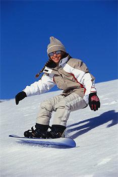 Ski fahren in Tirol