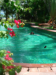 Swimming Pool Hotel Thailand