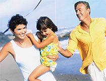 Als Familie Urlaub machen